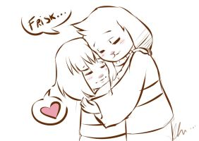 thank you, Frisk... by takagui