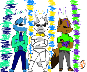 *Contest* Back at it again with the squad by ShadowIsDaBest