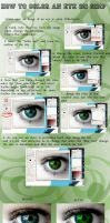 Eye Coloring Tutorial on GIMP by Evolved-Monkey