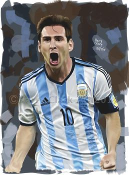 Lionel Messi by rj700