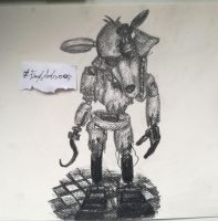 Withered Foxy (FNaF 2) by FnafArts003