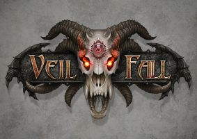 Veil Fall logo by AlMaNeGrA