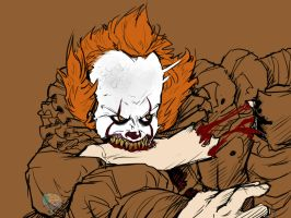 Vicious Pennywise by ButeonineOwl