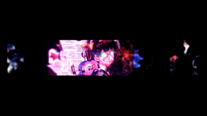 Anime YouTube Banner . by Jocker8CLz