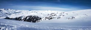 Glacier Panorama II by amrodel