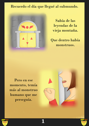 JustTale: Angel roto. Pagina 1 by MuskyCat90