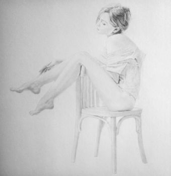 On the chair by stevie-wydder