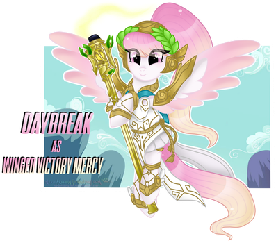 Winged Victory Mercy - DayBreak by NekoMellow