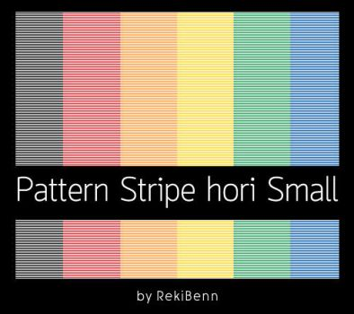 Pattern Stripe hori Small by TheSeekerReki