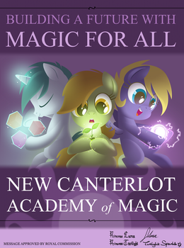 Academy of Magic by Equestria-Prevails