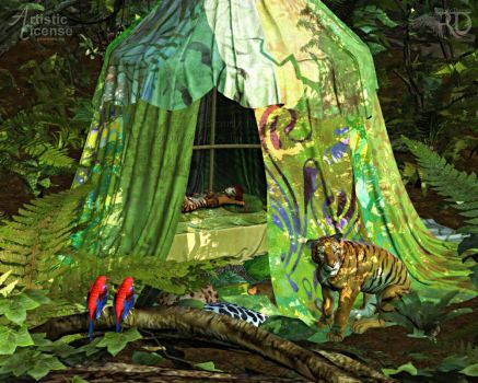 A Jungle Retreat by RavenMoonDesigns
