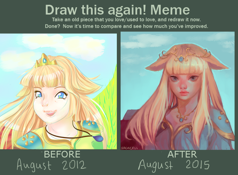 Improvement meme: exactly 3 years on by sachcell