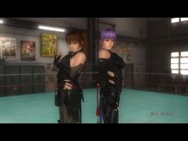 DOA5LR Kasumi C3 on Ayane and Ayane C1 on Kasumi by SheikProject