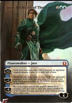 Jace, Architect of Thought by BlackWingStudio