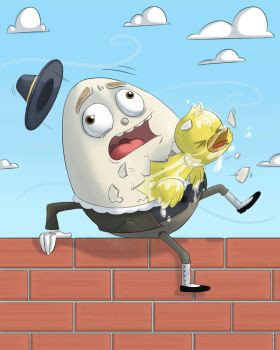 Humpty-Dumpty by PicassoProtege