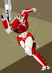 G1 Causeway in Action By: Beamer (WIP) by ElitaOneArts