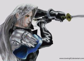 sephiroth by Icewing92