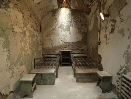 Eastern State Penitentiary 21 by Dracoart-Stock
