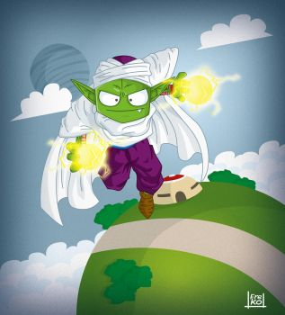 Piccolo Dragon Ball Z by kalhaaan