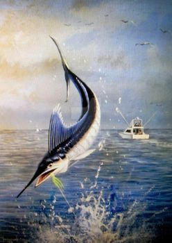 Out of The Blue, Blue Marlin gamefish