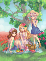 summer picnic collaboration by Julietto