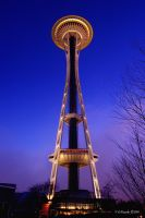 Seattle Space Needle by UrbanRural-Photo