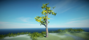 Realistic Tree 11 by RakshiGames