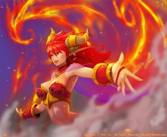Alexstrasza the Life-Binder. by Ta-bam