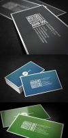Business Card With QR Code by glenngoh