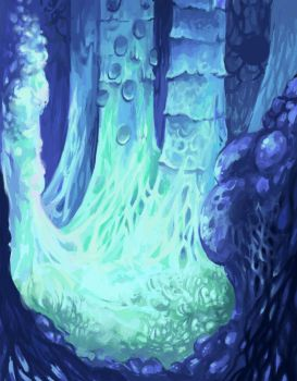 Forest: Nausicaa of the Valley of the Wind by Qalissa