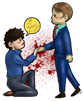 Hannibal - Be my murder husband by FuriarossaAndMimma