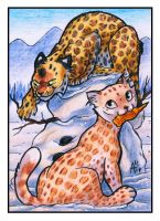 ACEO - Snowcats [PATREON] by ARVEN92