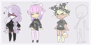 Pastel Goth Adopts + Customs [CLOSED] by Audill
