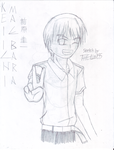 Peace out Keiichi-kun - Happy B-Day, HylianGuy by TheLim155