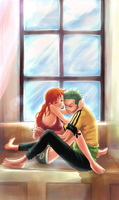 Just a moment... by Mugi-girl