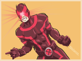 X-Man of the day: CYCLOPS.now by NelsonHernandez