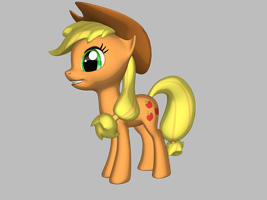 Mlp: Applejack by november123456789066