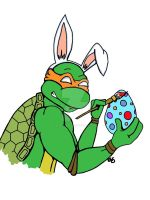 Easter Mikey! by BlossomBrooks