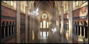 Gothic Cathedral_3 by Zorrodesign