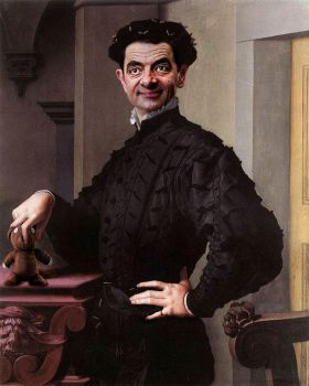 Agnolo Bronzino Portrait of a Bean by RodneyPike