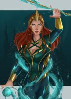 Mera-The Queen Of Atlantis by SaifuddinDayana