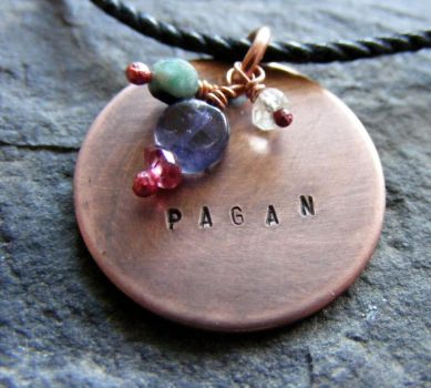Pagan Necklace by MoonLitCreations