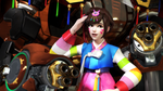 [Overwatch] D.Va : Korea~! :) by The-Brownie