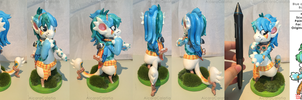 Gemma Statue (Gift for CylaDavenport) by AicaraCalatia