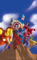 Avengers Classic by licarto