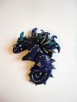 Blue Dragon Pendant by Lucky101212