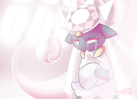 Sad Diancie by Sol-Lar-Bink