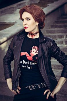 Supernatural - Abaddon - Queen of Hell by love-squad