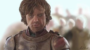 Tyrion Lannister by RickardHa