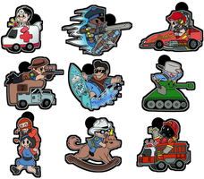 :: TF2 Rides :: by TheBealeCiphers